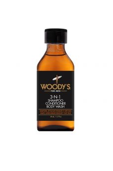 Woody's Mini 3-N-1 Body Wash, 1.7 oz