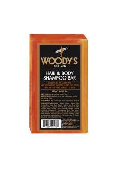 Woody's Hair & Body Shampoo Bar - 8 oz